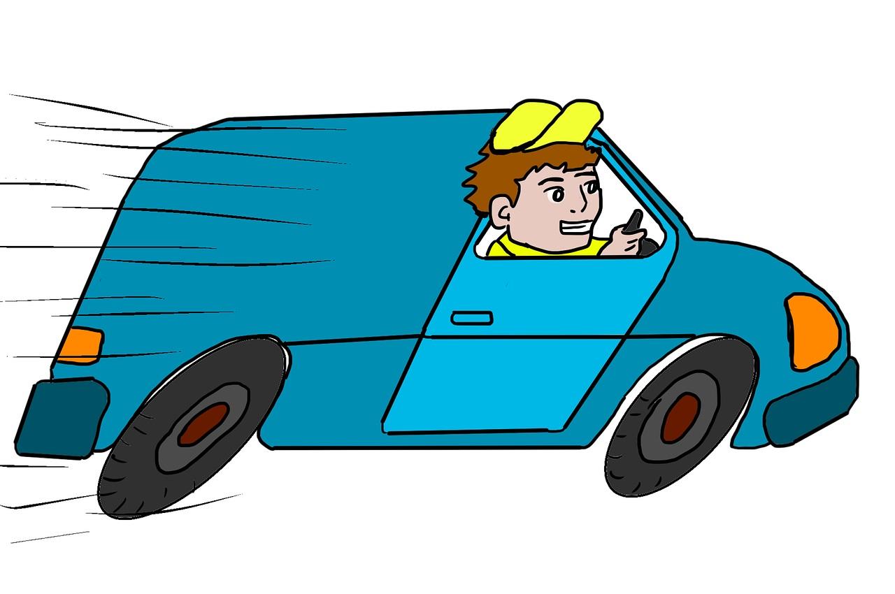 dodávka s řidičem